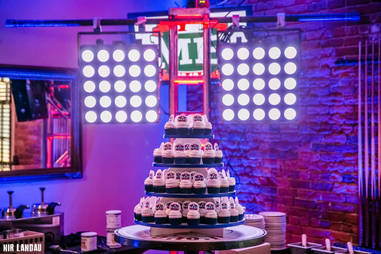 Miles Bar Mitzvah Cupcakes