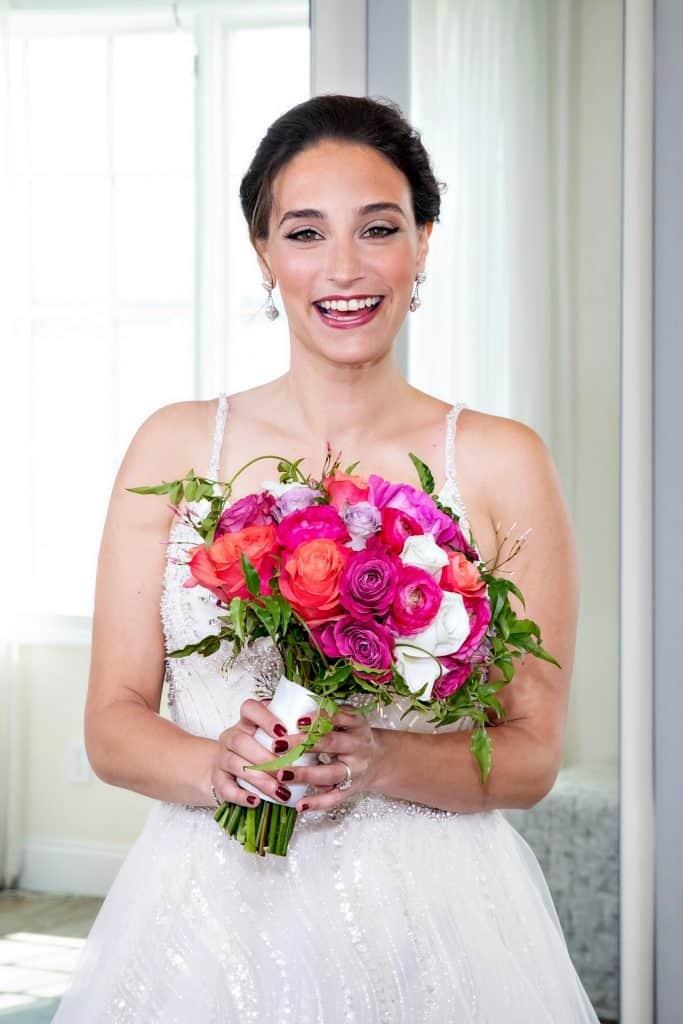 Liz In Bridal Gown
