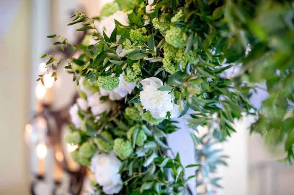 Floral Design on Huppah