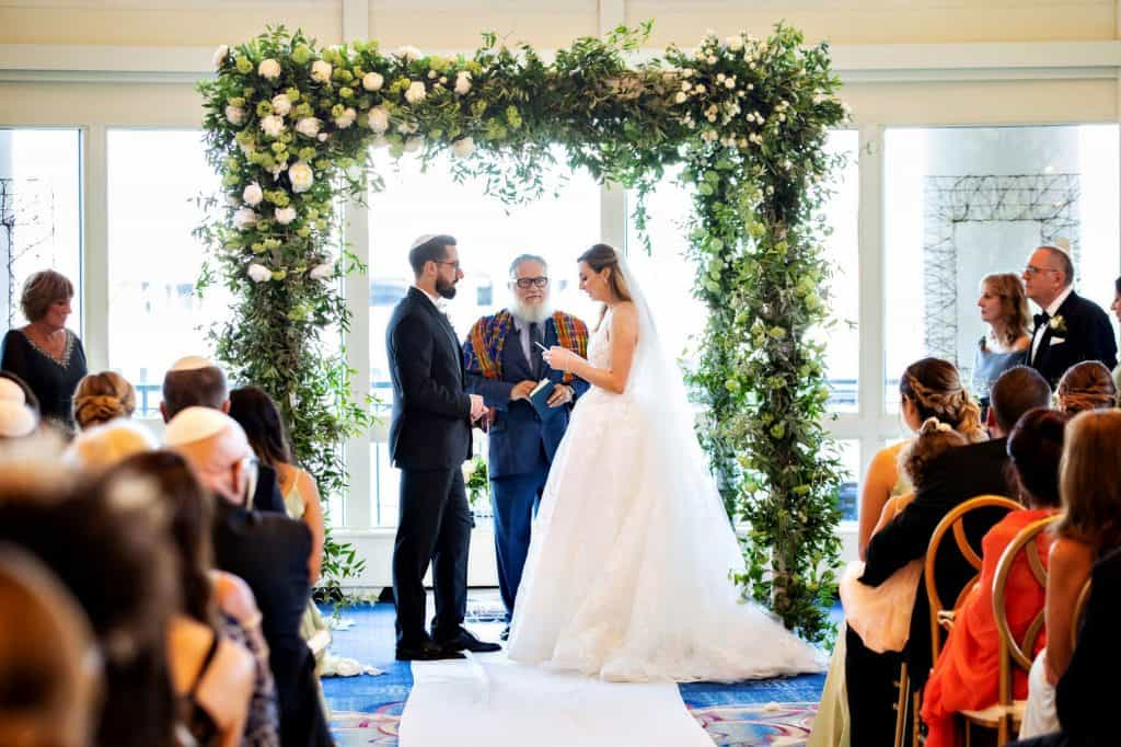 Exchange of Vows Under Huppah