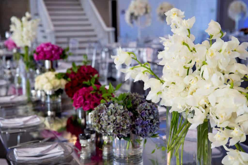 Multiple Floral Centerpieces