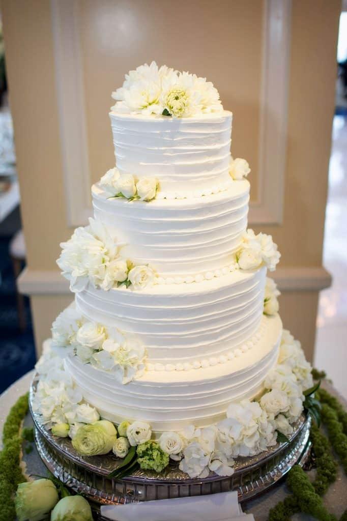 4 Tier Bridal Cake