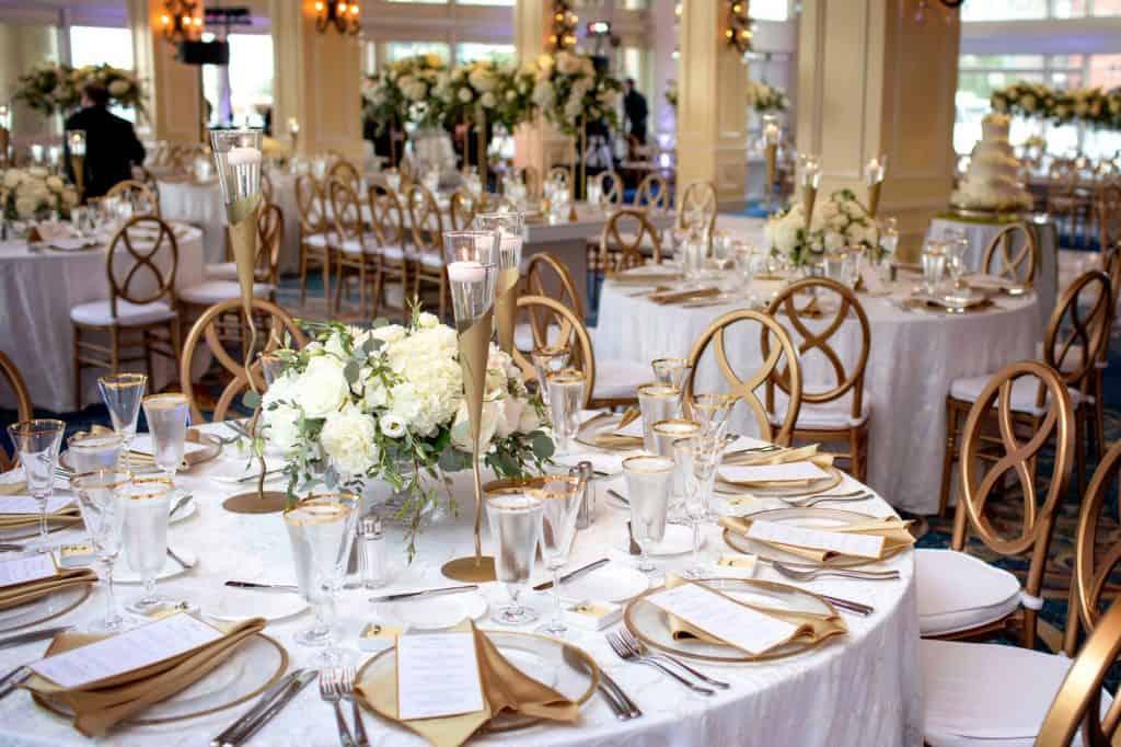 Gold Patterned Wedding