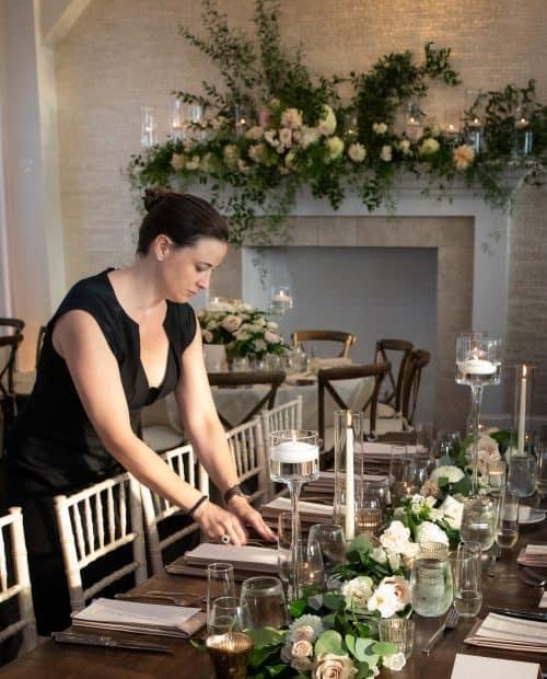 Aya Setting the Table