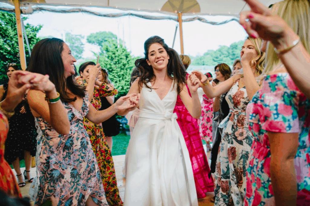 Molly Dancing at Wedding