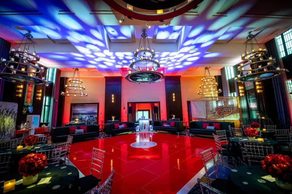 Ben Bar Mitzvah Dance Floor