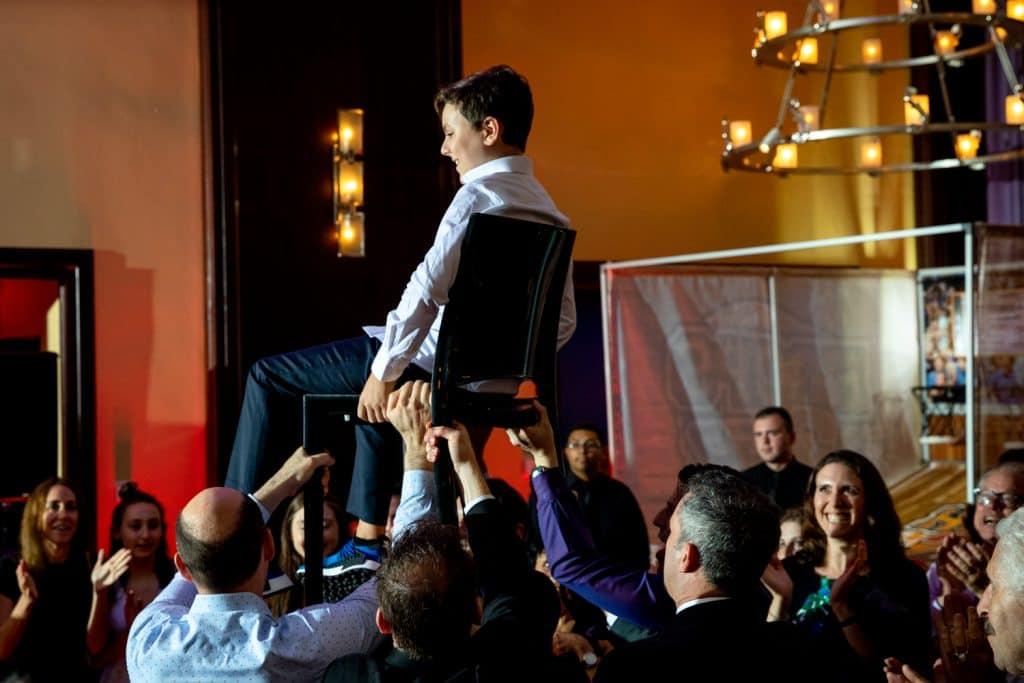 Ben Bar Mitzvah Chair Dance