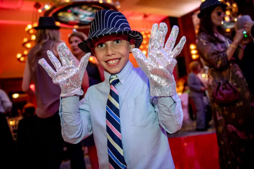 Ben Bar Mitzvah Michael Jackson Gloves