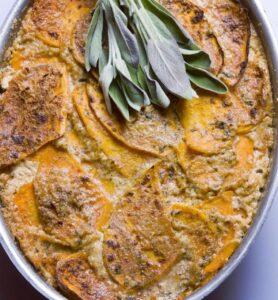 Potato Au Gratin Dish by La Bonne Maison