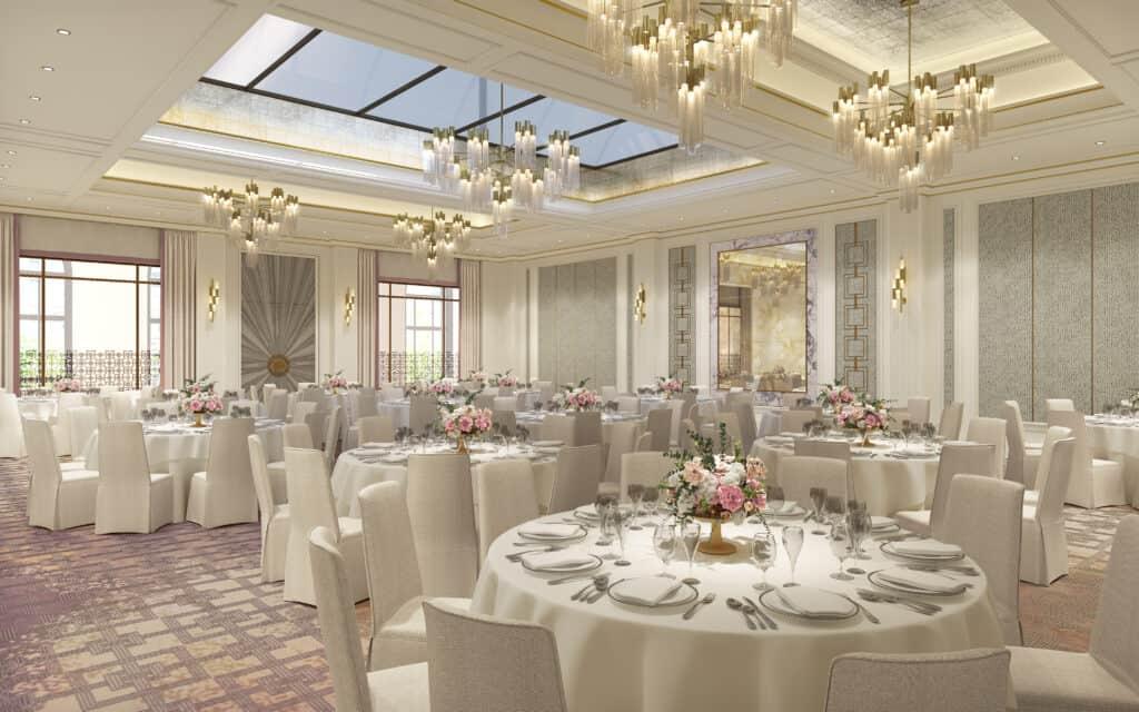The Langham Hotel Ballroom