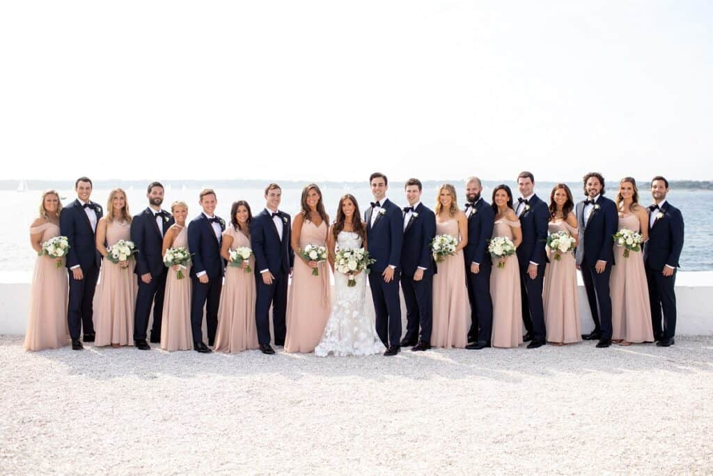 Jason and Jessica Bridal Party