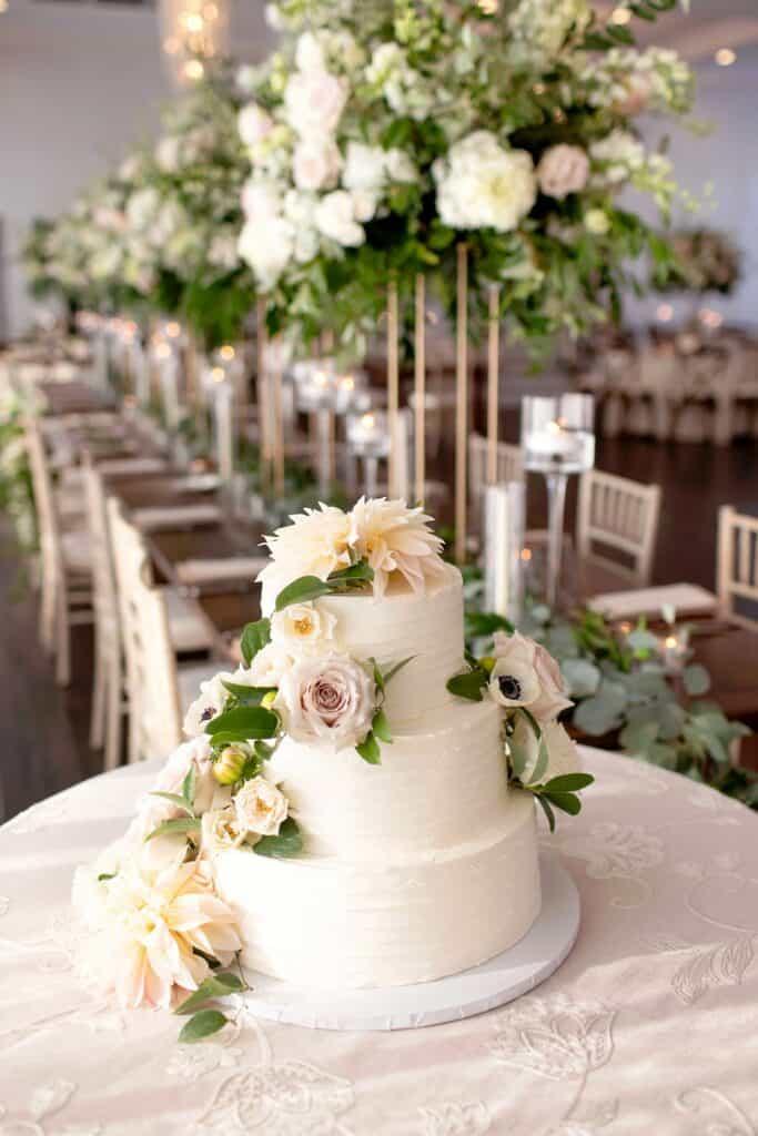 Jason and Jessica Wedding Cake