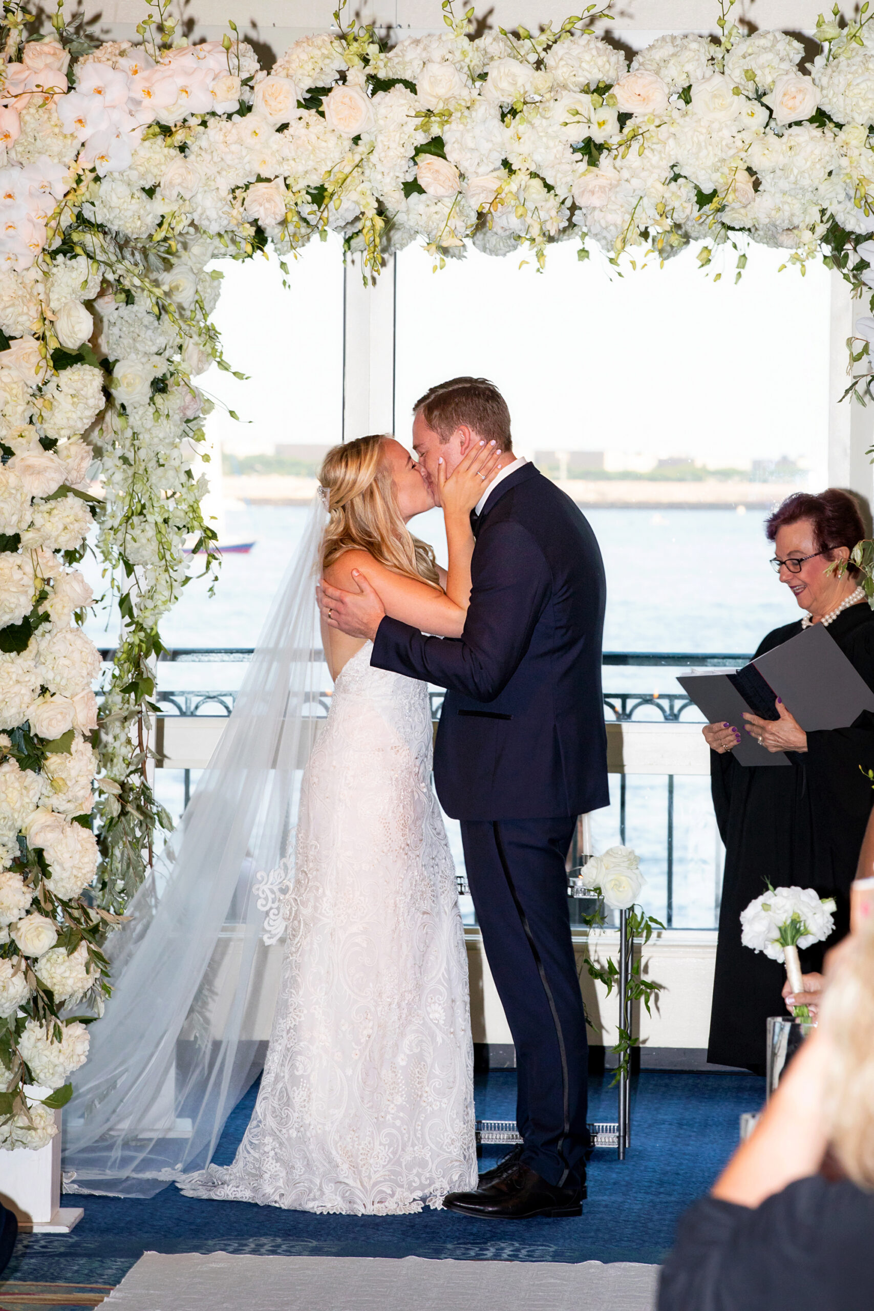 Kiss at End of Ceremony